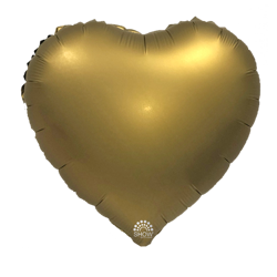"Foil Heart, Gold 18"" (45cm.)"
