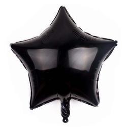 "Foil Star, Black 18"" (45cm.)"
