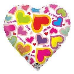 """Hearts"" 18"" (45cm.)"