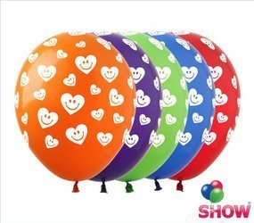 "SHOW™ 12"" ""Emoji Heart"" (10 pcs.)"