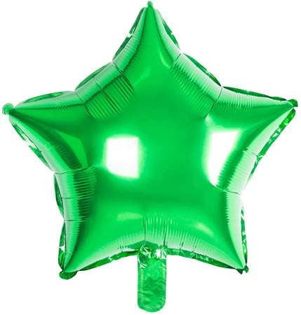 "Foil Star, Green Gradient 18"" (45cm.)"