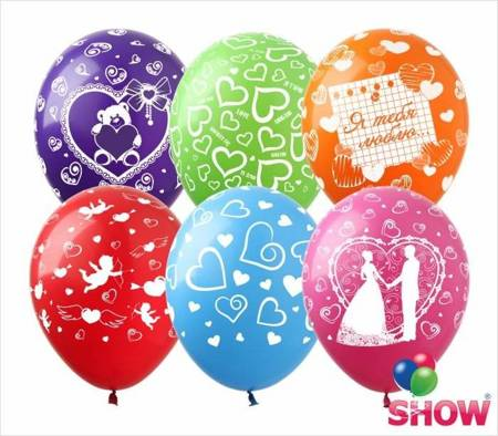 "SHOW™ 12"" ""Mix Balloon Love"" (10 pcs.)"