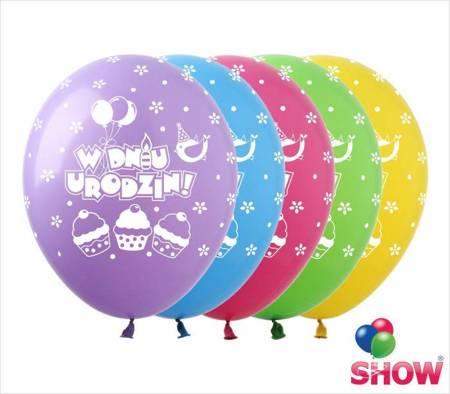 """SHOW™ 12"""" """"W Dniu Urodzin"""" (10 pcs.)"""
