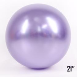 "Balon  21"" CHROME,  Liliowy (1 szt.)"