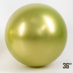 """Balon  36"""" CHROME,  Fistaszkowy (1 szt.)"""