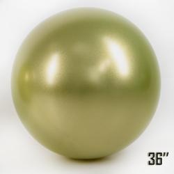 """Balon  36"""" CHROME,  Złoty Oliwkowy (1 szt.)"""