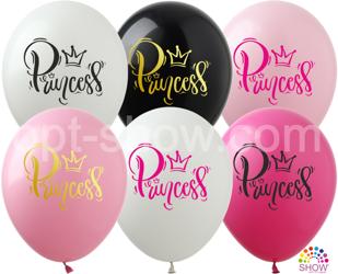 """Balony 12""""  """"Princess"""" (10 szt.)"""
