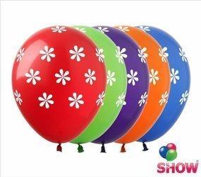 """Balony   """"Kwiatki"""" (10 szt.)"""