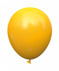 Kalisan™  12 cali, Ciemno-żółty (25 szt./opak.)