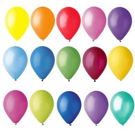 Balony 25cm, MIX (25 szt.)