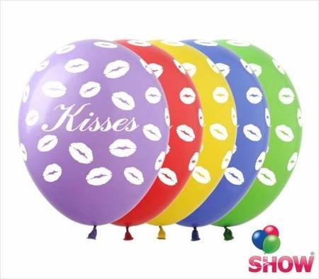 """Balony """"Kisses"""" (10 szt.)"""